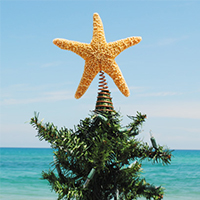 treetopper 5 Coastal Holiday Décor Ideas - Rehoboth Beach Real Estate - Bryce Lingo and Shaun Tull REALTORS, Rehoboth Beach, Delaware
